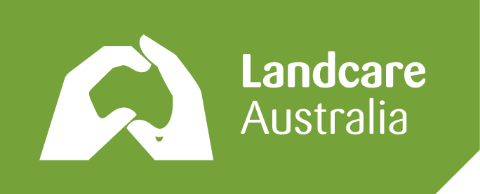 The Landcare logo is arguably one of the most recognisable symbols in Australian conservation culture.   Image:  Landcare Australia