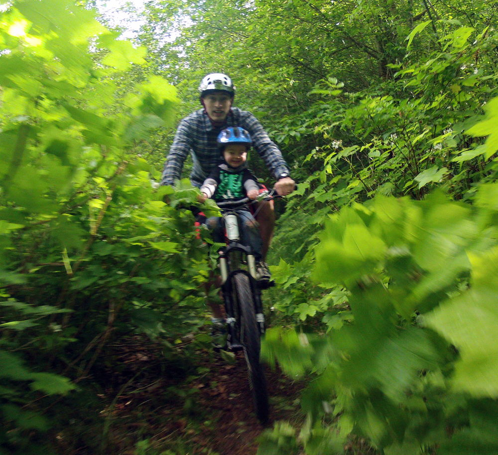Glen & Mac In Squamish - Leafy Trail.jpg