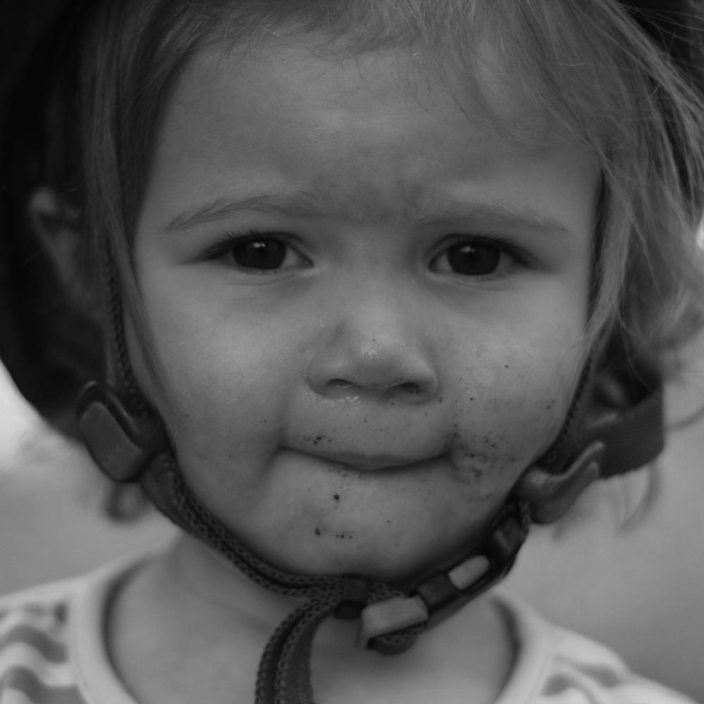 Emie Eating Dirt.jpg