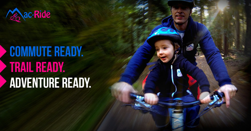 The ultimate child bike seat. - For mountain biking and everyday riding. For children ages 2-5.