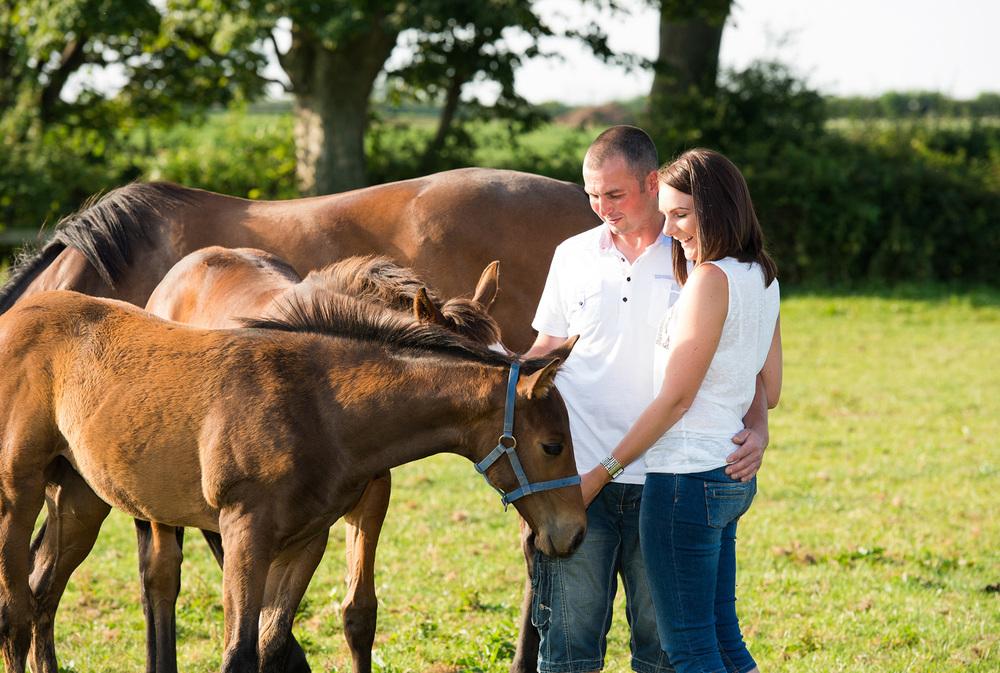 Lancashire Farm Engagement Photography
