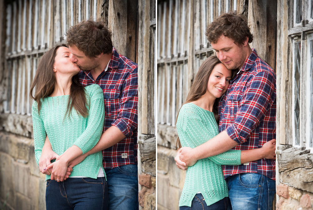 Beautiful, relaxed engagement photography