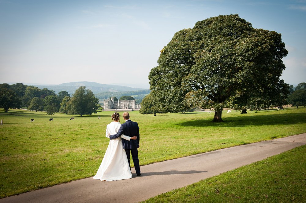 Leighton Hall wedding venue, Lancashire
