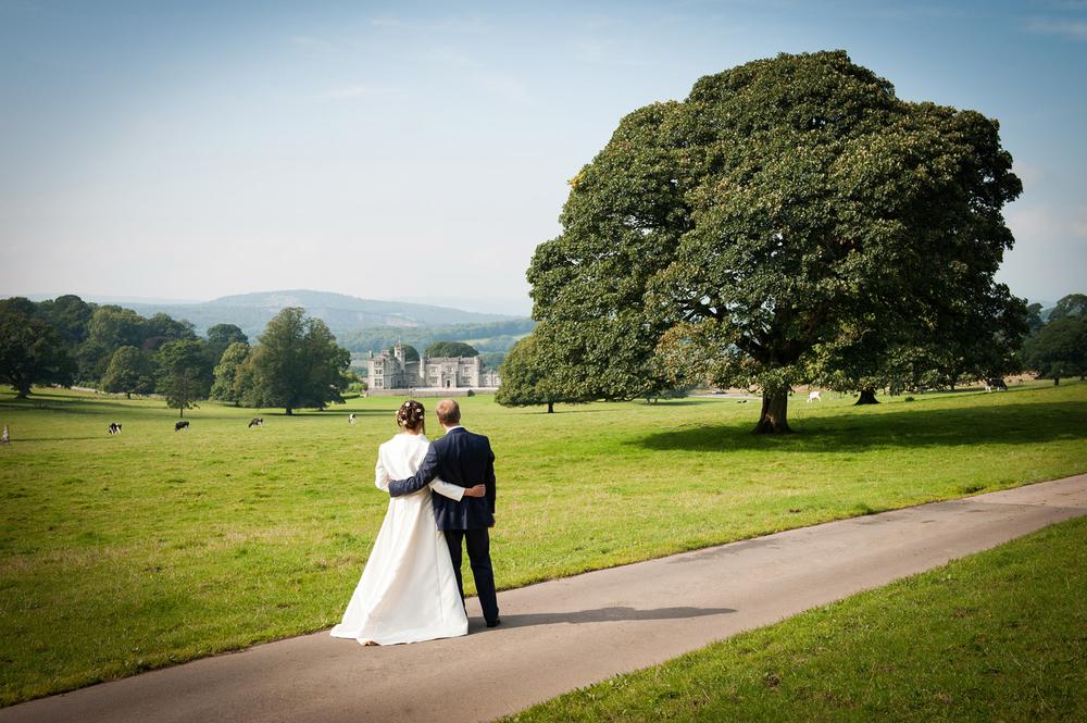 Leighton Hall wedding venue, Lancashire