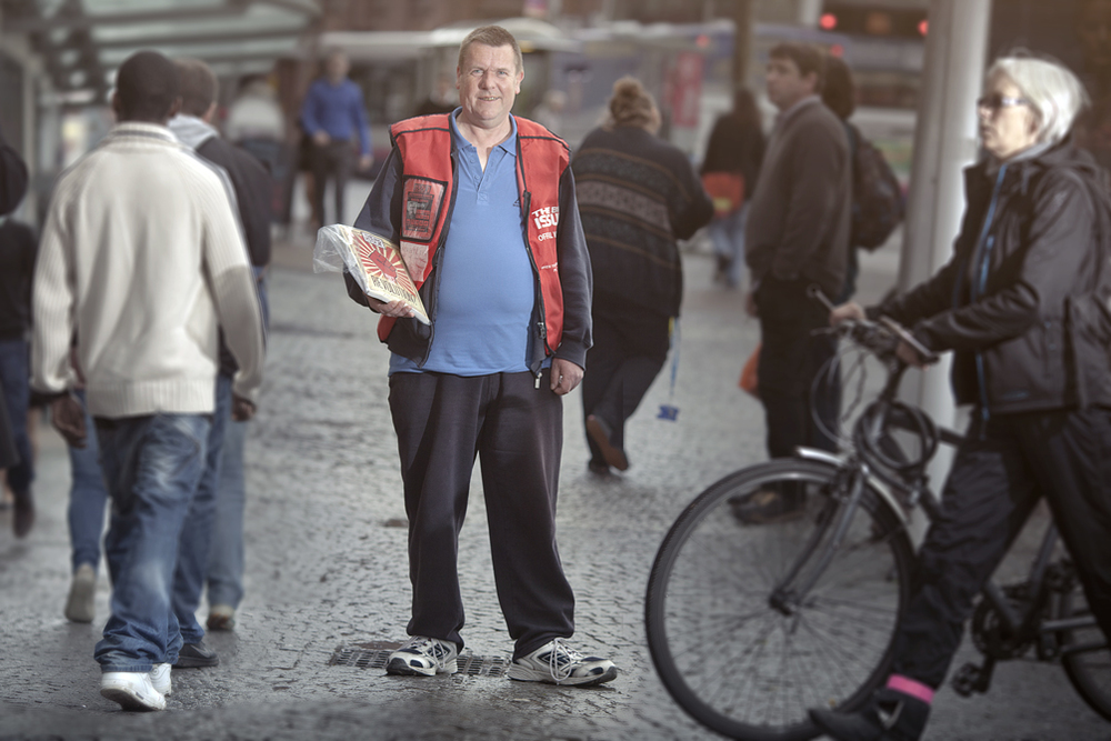 Big Issue Portrait