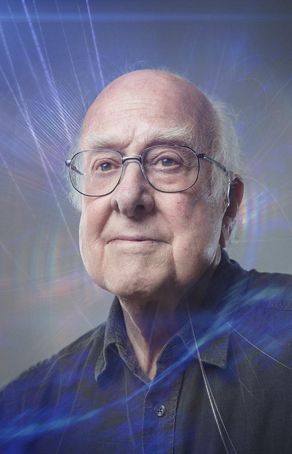 Proffessor Peter Higgs