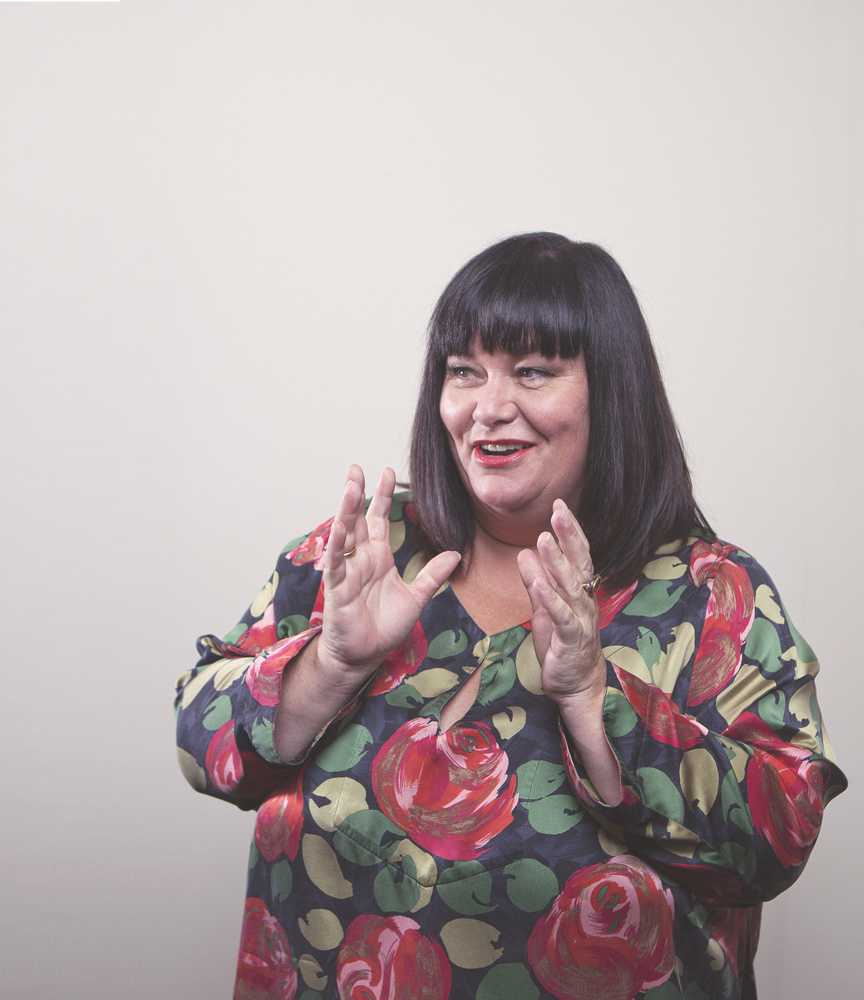 Dawn French Portrait