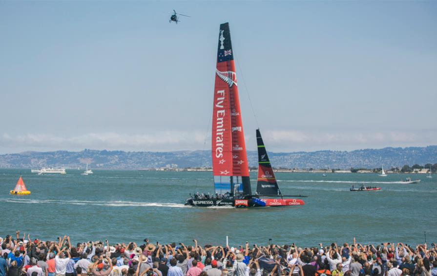 Emirates Team New Zealand, San Fransisco Bay