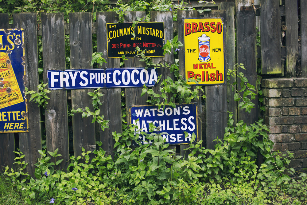 Victorian Brand Signs
