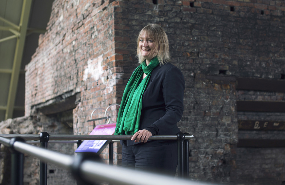 Anna Brennand the current CEO of the Ironbridge Gorge Museums