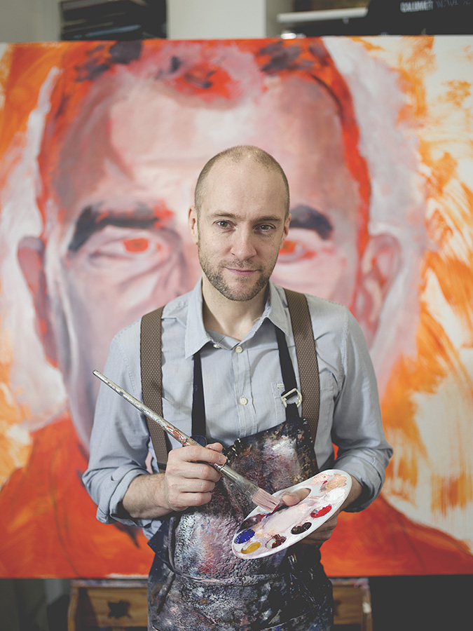 Derren Brown Artist Painter