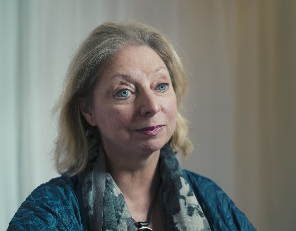 Hilary Mantel Author Celebrity Portrait