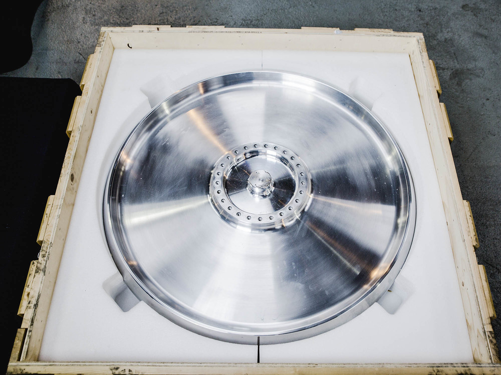 Aluminium wheel in case