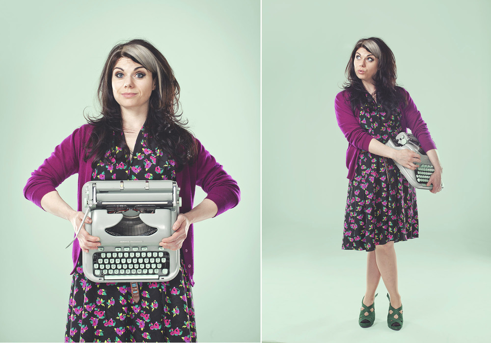 Copy of Caitlin Moran Portait