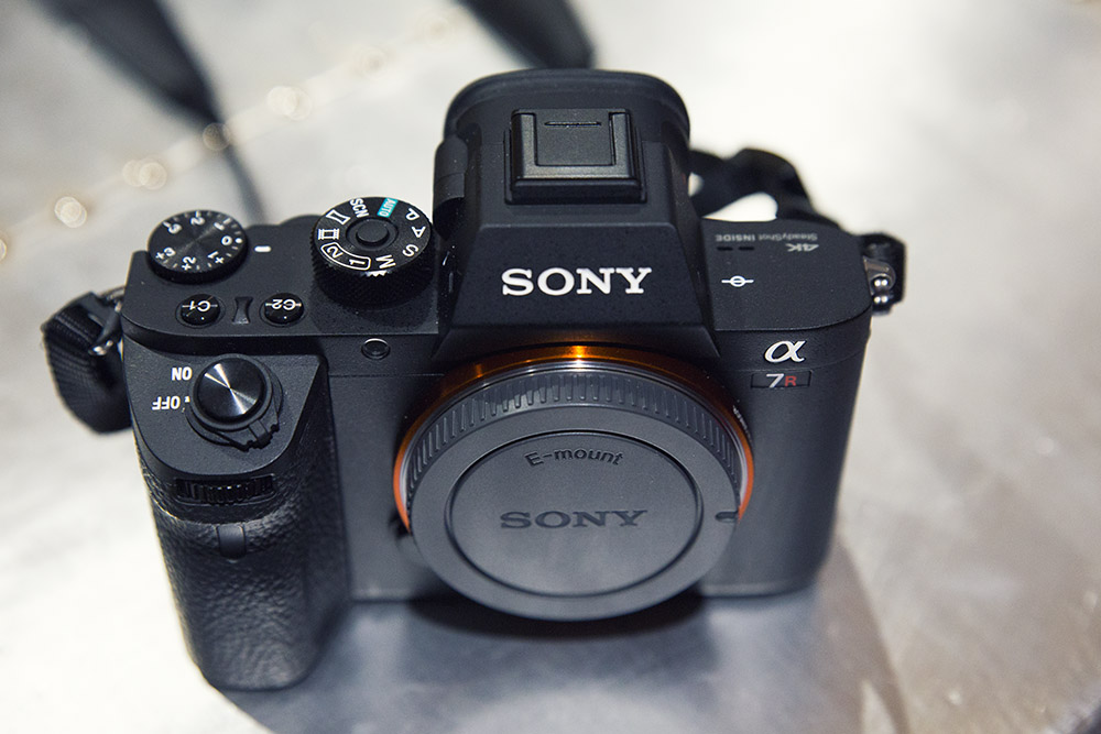 The new Sony A7r II