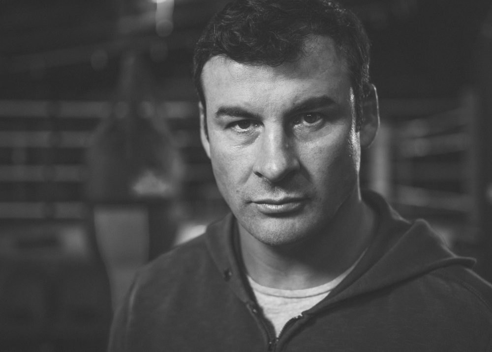 Joe Calzaghe Portrait 2015