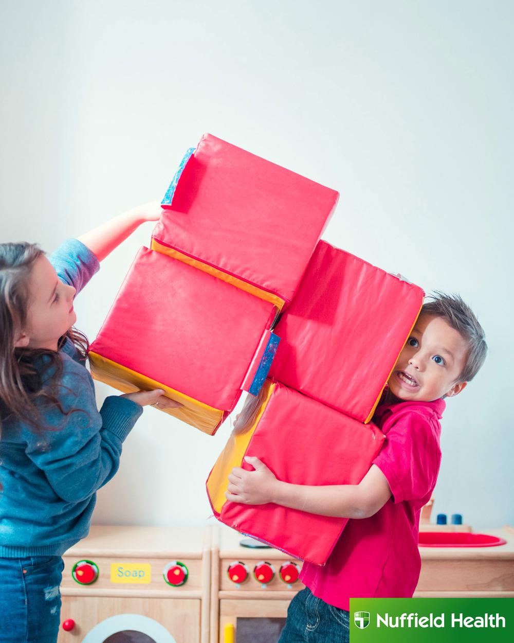 Kids in Nursery