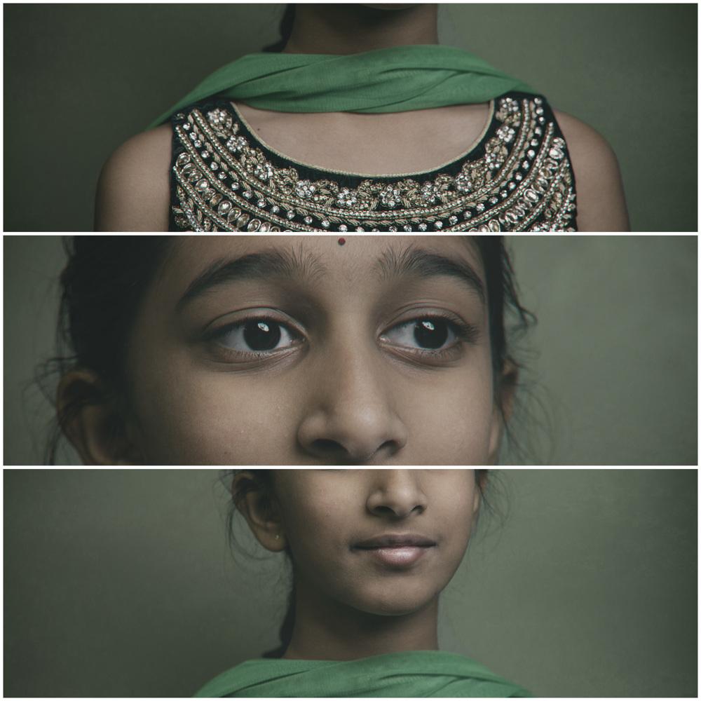 Hindu Girl Portrait
