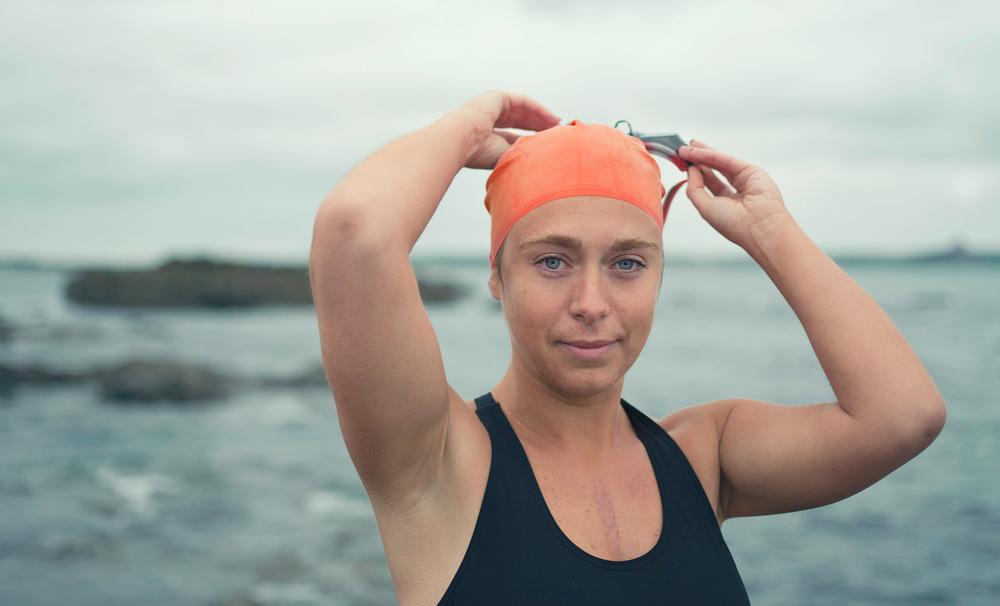 Wild Swimmer Portrait