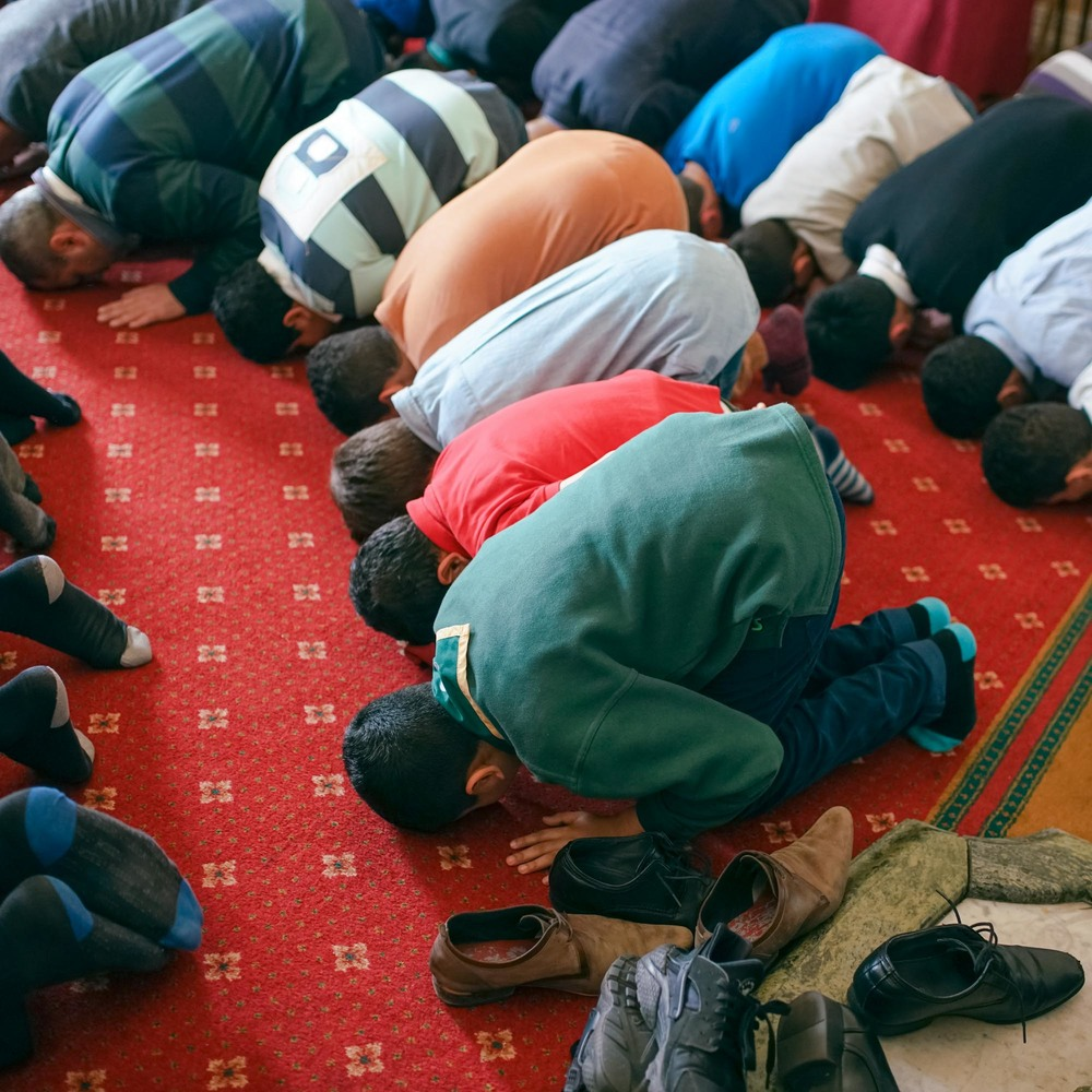 Muslim Prayer photograph