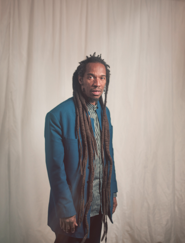 Benjamin Zephaniah Portrait Photography