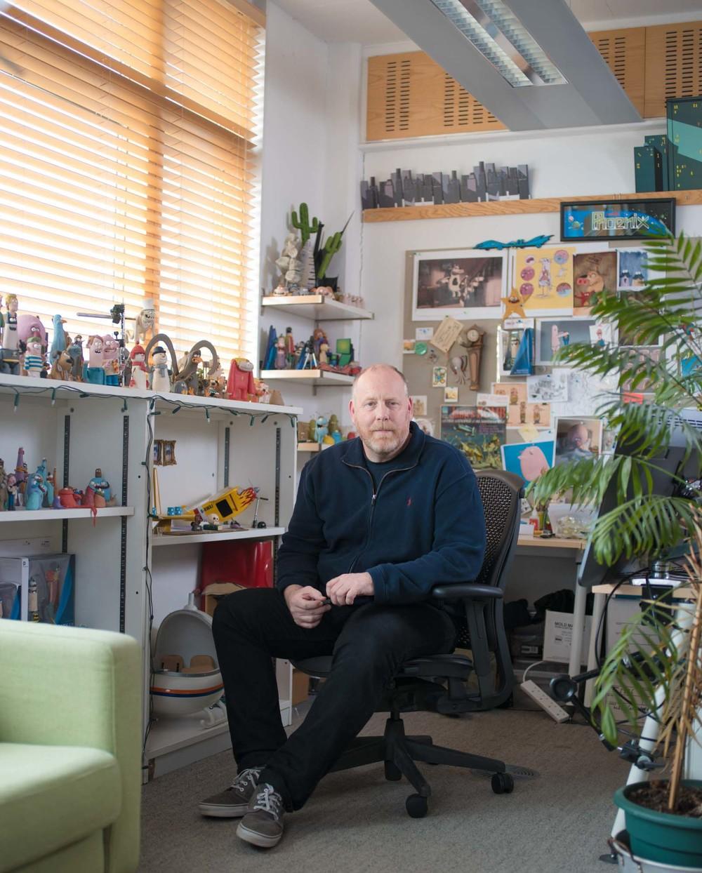 Aardman Animations Portrait