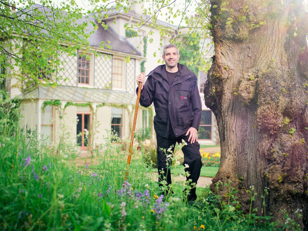 Rowan Blaik, head English Heritage gardener at Down House
