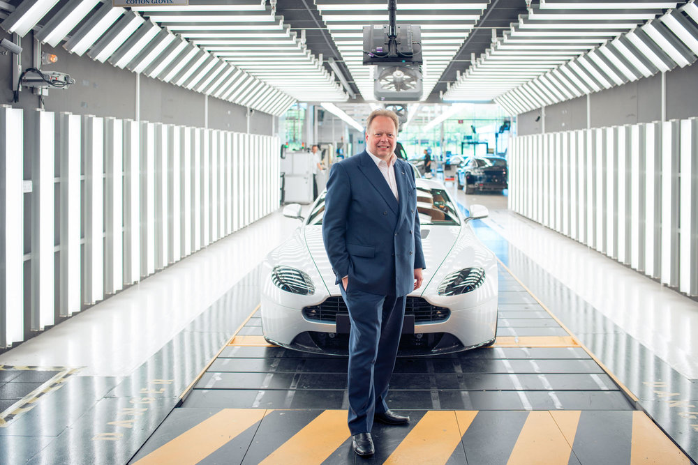 Aston Martin CEO Andy Palmer