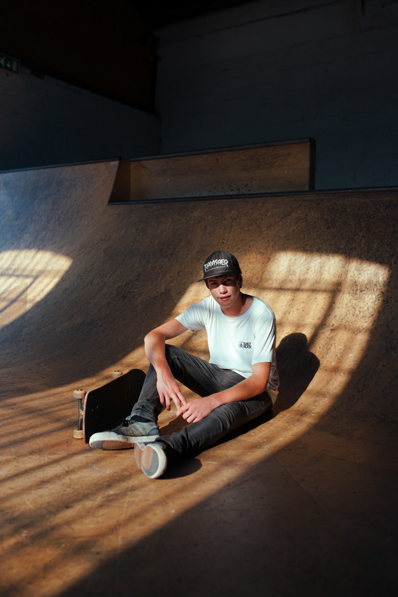 Skater Portrait