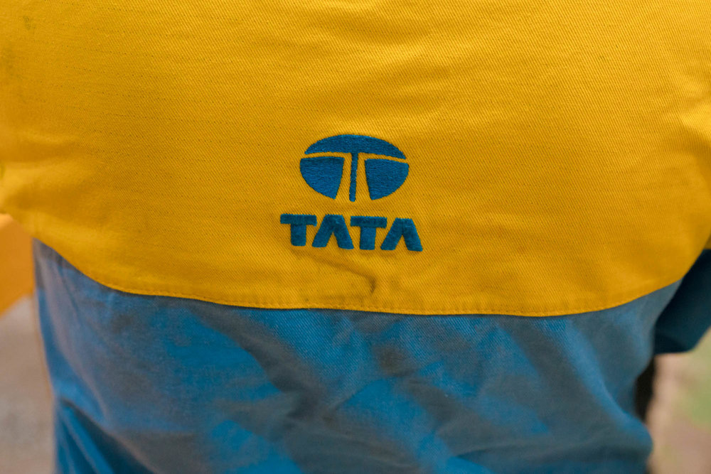 Tata Uniform Steel worker