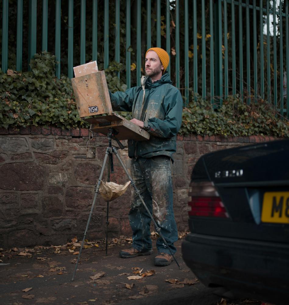 Tom Hughes Artist Portrait Bristol