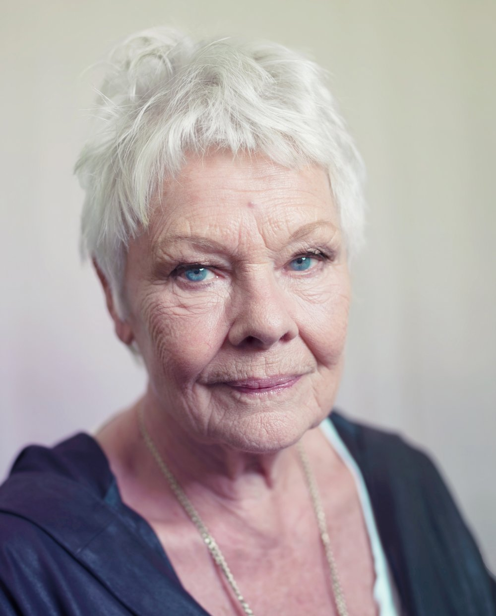 Dame Judi Dench Portrait
