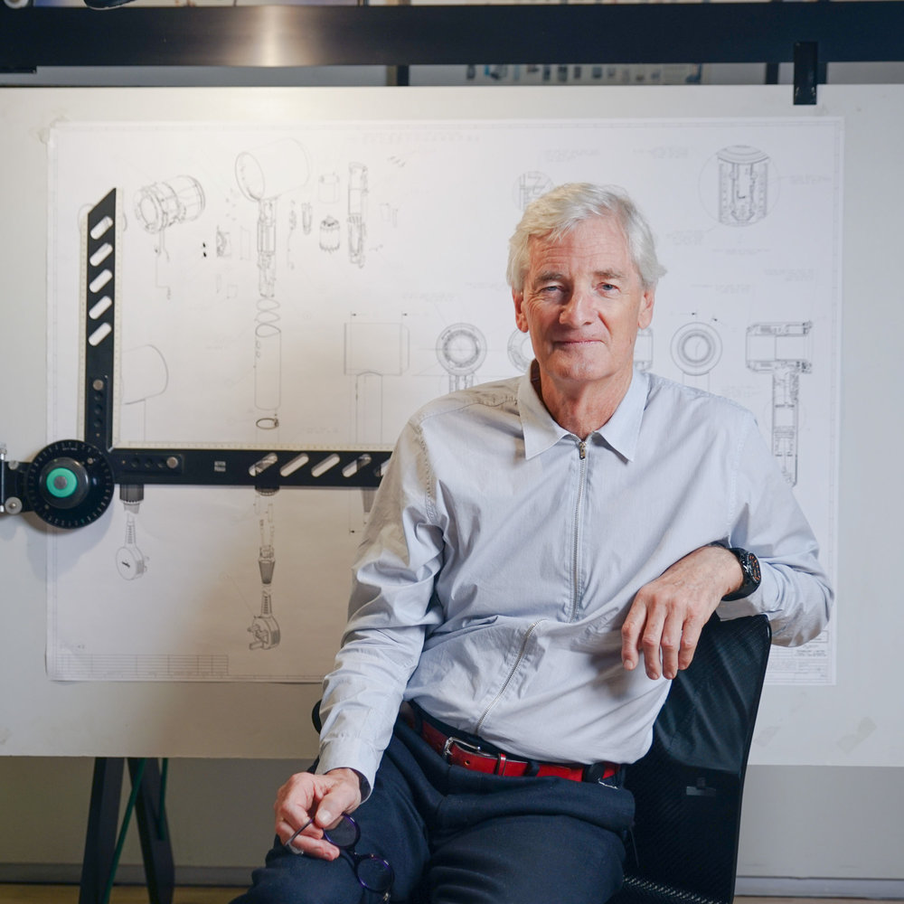 Portrait of James Dyson