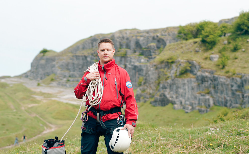 Mountain Rescue Portrait UK