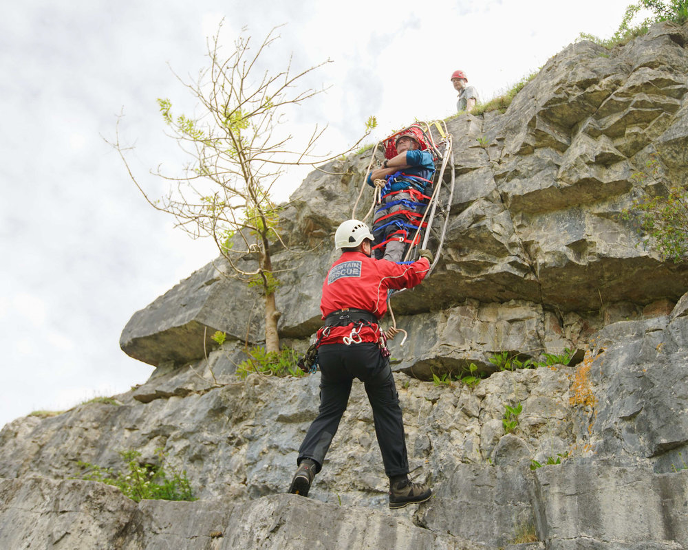 Cliff Face Rescue