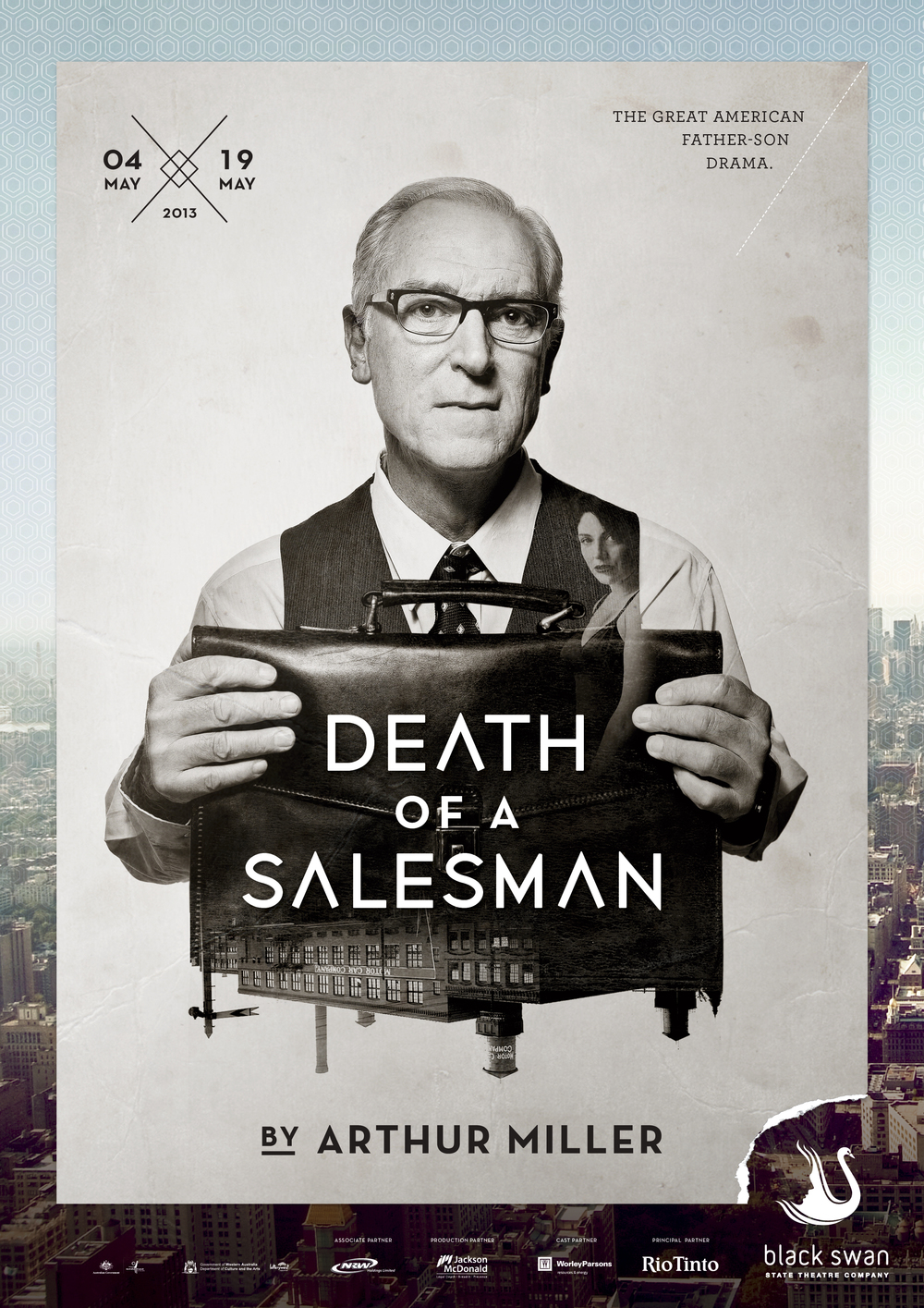 Death of a Salesman Artwork