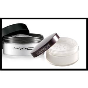 MAC Prep + Prime Powder and Laura Mercier Secret Brightening Powder