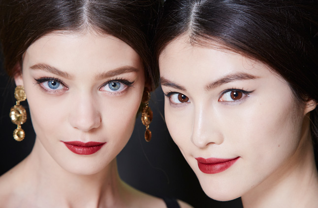 Dolce & Gabbana Fall/Winter 2013 by Pat MrGrath using Dolce & Gabbana (image from allure.com)