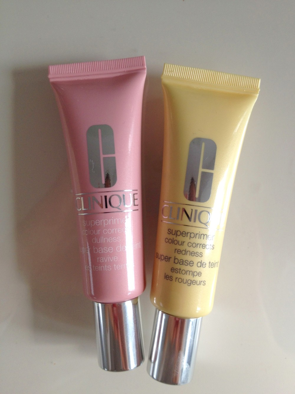 Pink: the glow-getter  Yellow: the redness tamer