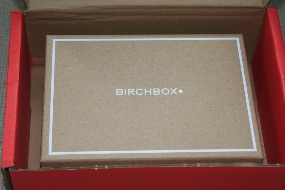 The Birchbox revealed ....