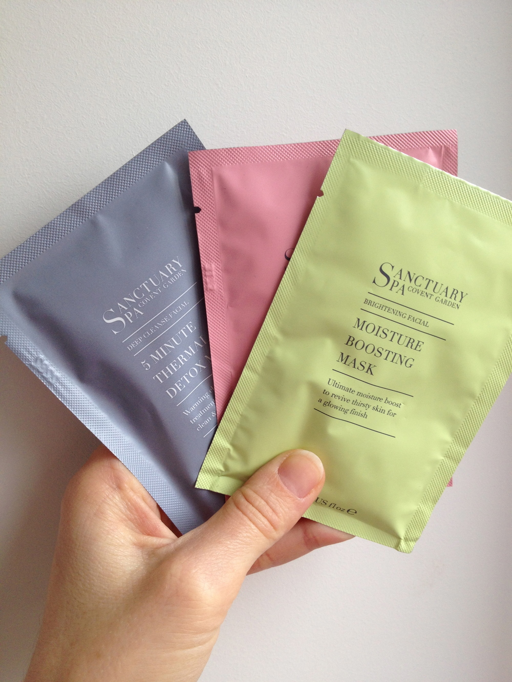 Face masks by The Sanctuary Spa, available at Boots