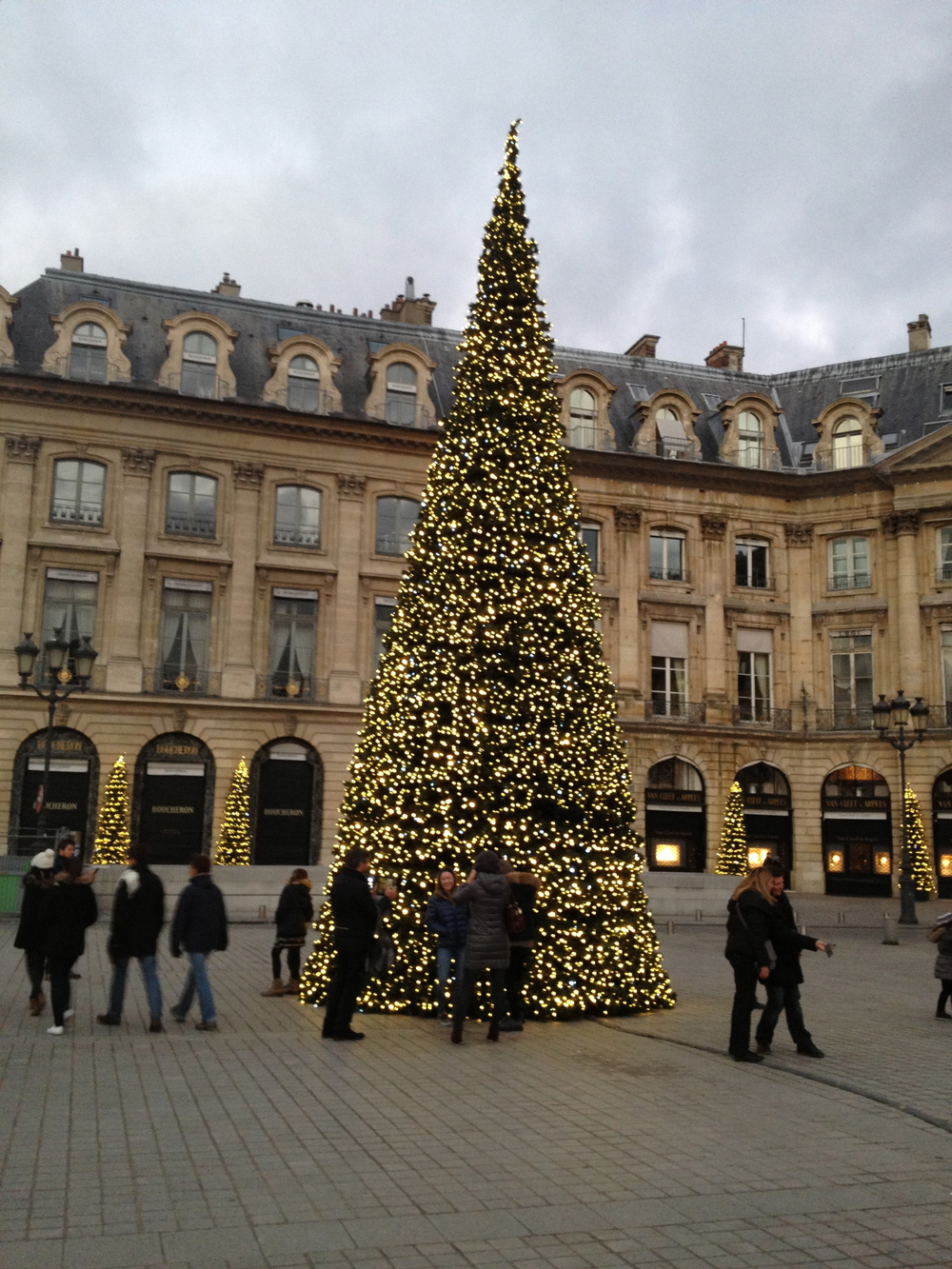 Christmas cheer in Place Vendome