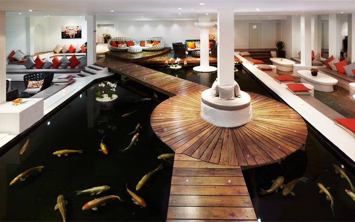 The Koi Lounge, image courtesy of Sanctuary Spa