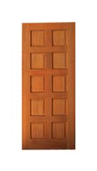 10 Panel Solid. Code10-Panel