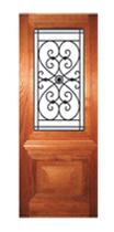 Wrought Iron 1 Panel. Code WIP