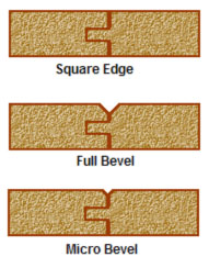 Bevel Edge Options