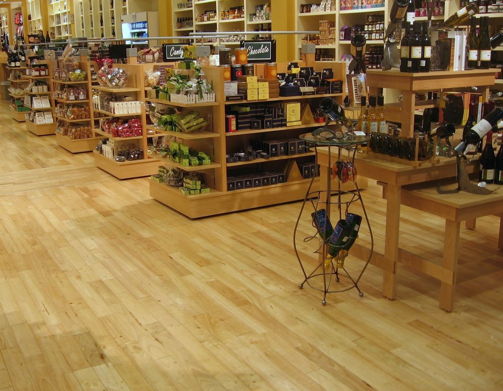 Rubber Wood Plank Parquet Flooring