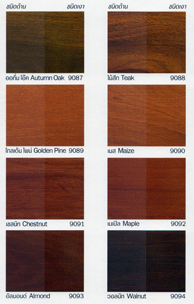 Stain Colours
