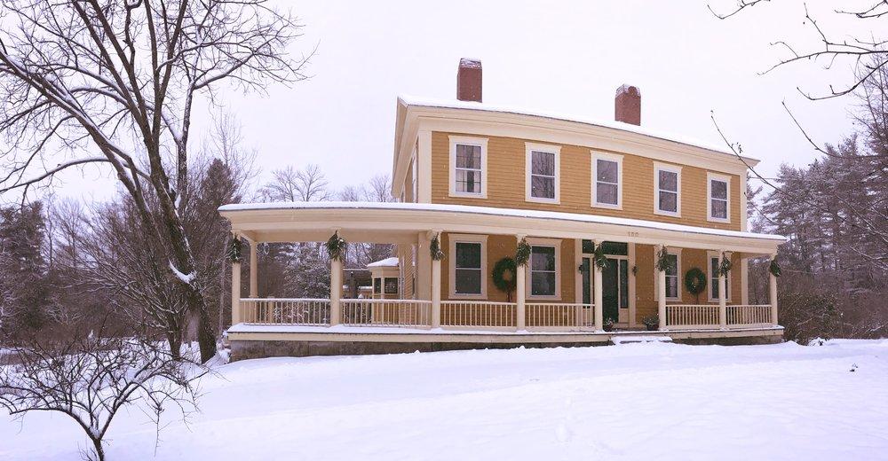a farmhouse christmas the groove - A Farmhouse Christmas