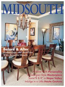 MIDSOUTH Magazine July / August 2006 Cover and 8 Page Feature